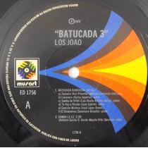 Acetato Disco Lp Vinil Los Joao Batucada 3