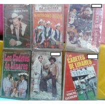 Casetes De Los Cadetes De Linares 100% Sellados Y Nuevos