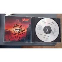 Cd Dio The Last In Line Autografiado Leer Características