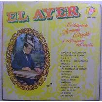 Armando Elizalde El Salterio 1 Disco Lp Vinilo