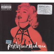 Madonna / Rebel Heart / Super Deluxe Version Disco Cd