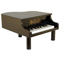 Schoenhut 18 Key Mini Piano De Cola - Negro