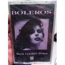 Casete Maria Conchita Alonso Boleros Nuevo Y Sin Abrir