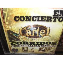 Cartel Del Sinaloa En Concierto Cd Sellado