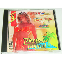 Cd Talento Tropical Llayras Aaron Aniceto Molina Rayito Col