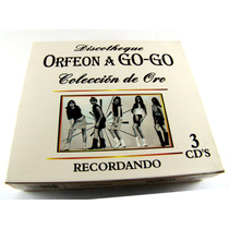 Discotheque Orfeon A Go Go Rock And Roll 3 Cd´s 2003