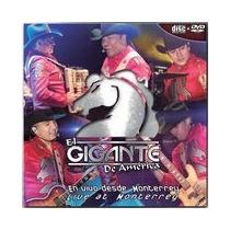 Gigante De America En Vivo Monterrey Vol 2 - Dvd + Cd Nuevo