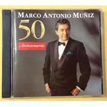 Marco Antonio Muñiz - 50 Aniversario - Cd Doble