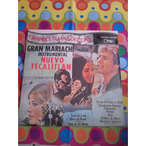 Gran Mariachi Instrumental Nuevo Tecalitlan Lp Temas De Cine