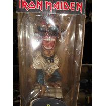 Iron Maiden Eddie Head Knocker Piece Of Mind En Caja
