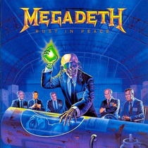 Megadeth - Rust In Peace Lp Metal Thrash Metallica Slayer