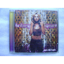 Britney Spears-oops I Did It Again-cd Pop 2000