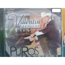 Cd Valentin Elizalde Puros Corridos 100% Nuevo Y Sellado