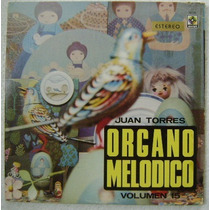 Juan Torres / Volumen 15 1 Disco Lp Vinilo