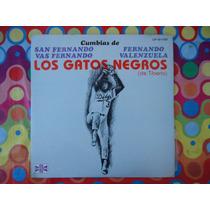 Los Gatos Negros De Tiberio Lp Cumbias 1981