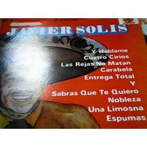 Disco De Acetato De Javier Solís Volumen 2