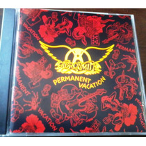 Aerosmith - Permanent Vacation Cd Rock Guns & Roses, Poison