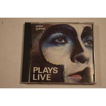 Cd Peter Gabriel Plays Live Edicion Usa