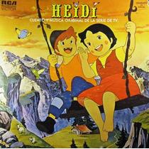 Soundtrack - Heidi Cuento Y Musica Original Lp Amarillo