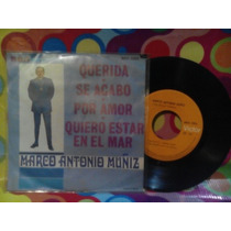 Marco Antonio Muñiz Querida Lp 45rpm