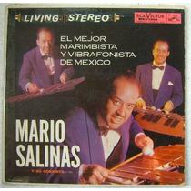 Mario Salinas El Mejor Marimbista 1 Disco Lp Vinilo