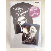 Lady Gaga Blu Ray + Playera The Monster Ball Tour At Msg