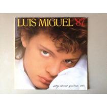 Luis Miguel 87 Lp - Soy Como Quiero Ser Vinil Nacional