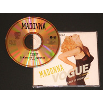 Madonna Cd Single Vogue Frances Nuevo Britney Gaga Hm4