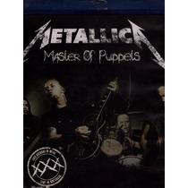 Metallica. Master Of Puppets. Blu-ray Nuevo.