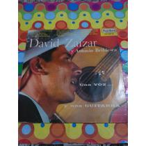 David Zaizar Y Antonio Bribiesca Lp Una Voz Y Una Guitarra.