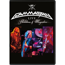 Gamma Ray 2 Dvd Skeletons And Majesties Importado