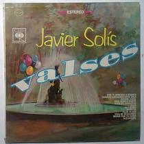 Javier Solis Valses Lp Nuevo Tipo Jorge Negrete Pedro Infant