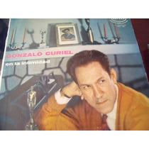Lp Gonzalo Curiel, En La Intimidad, Envio Gratis