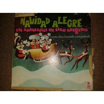 Disco Acetato: Navidad Ardillitas De Lalo Guerrero