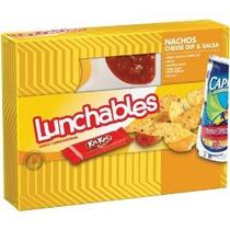 Oscar Mayer Lunchables Nachos Con Queso Y Salsa Paquete De 4