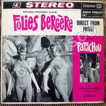 Frances, Patachou, Folies Bergere, Lp 12´,