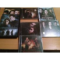 Saga De Crepusculo, Eclipse, 3 Dvd Y 4 Cd Los Sountrack Orig