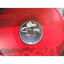 Michael Jackson - Billy Jean / Beat It- Acetato Rojo