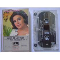 Maria De Lourdes / Canto A La Provincia 1 Cassette