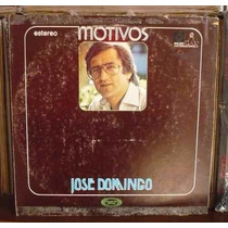 Jose Domingo Motivos Seminuevo Disco Lp Vinil Acetato