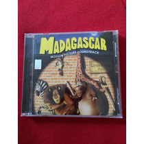 Cd Pelicula Madagascar Soundtrack Banda Sonora Original