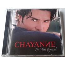Chayanne Me Enamore De Ti Cd Promo Raro C/2 Vers Y Saludo