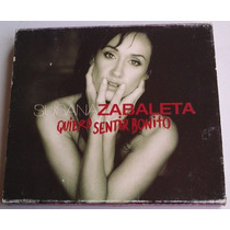 Susana Zabaleta Quiero Sentir Bonito Cd Doble Caja 1 Ed 2004