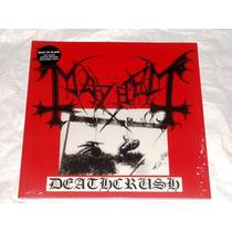 Mayhem Deathcrush Gatefold Lp Colour Vinyl Black Metal