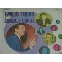 Lp De Emilio Tuero:las Canciones De Gonzalo Curiel 1972
