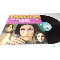 Tangos Franck Pourcel Y Su Orquesta Lp Vinyl De Coleccion