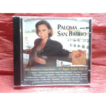 Cd Paloma San Basilio Mis Mejores Canciones 17 Super Exitos