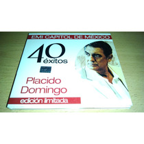 Placido Domingo, 40 Exitos, Edicion Limitada,cd Album Doble