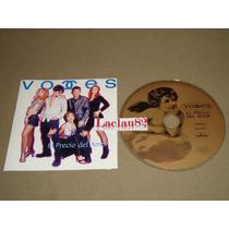 Voces El Precio Del Amor 1996 Polygram Cd