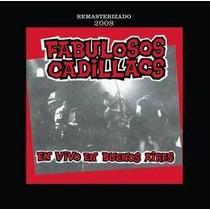 Fabulosos Cadillacs En Vivo En Bs As Remaster 2008 Cd Nuevo